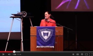Marcy Syms Address at Yeshiva University's Sy Syms School of Business Awards Dinner