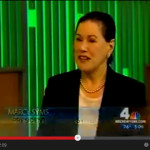 Marcy Syms on NBC Television