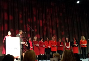 AHA, Go Red For Women Luncheon, Marcy Syms